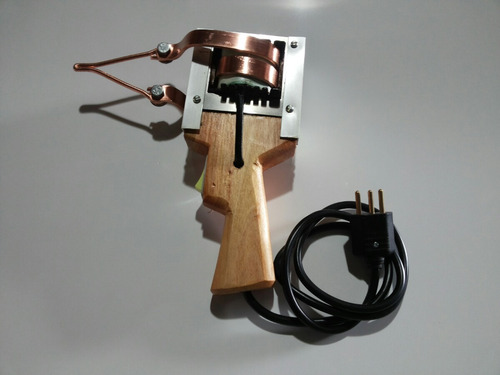 ferro de solda estanho cabo de madeira 750w/220v