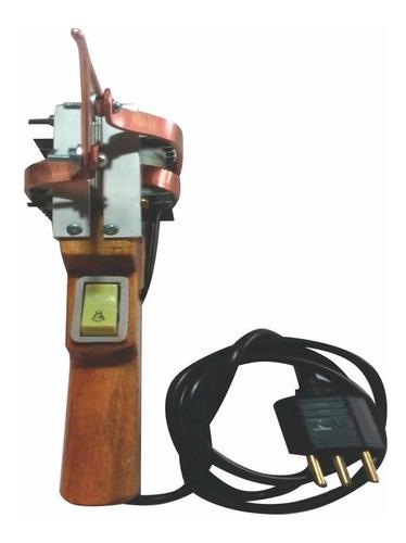 ferro de solda pistola cabo de madeira 750w/220v