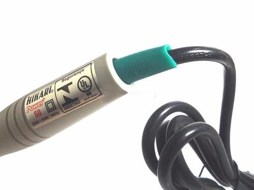 ferro solda hikari power 60  127v ou 220v envio full