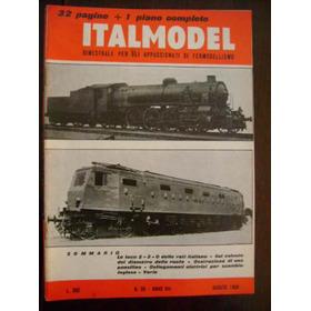 Ferromodelismo  Revista Italmodel  Varios Números