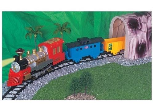 ferrorama locomotiva expresso ii com túnel 8001 - braskit...