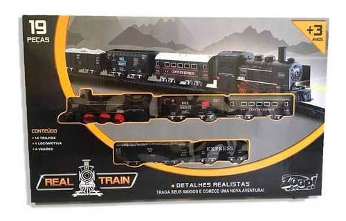 ferrorama real train zp00170 - zoop toys