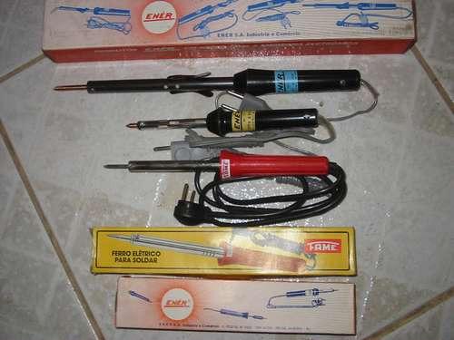 ferros de solda eletrônica marca ener 20, 28, 35,  watts