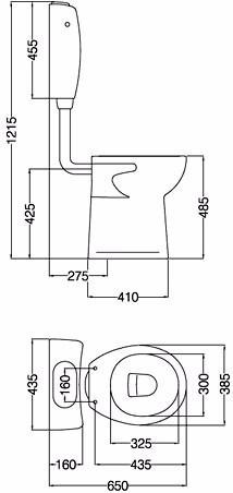 ferrum deposito para discapacitados espacio blanco dte6f