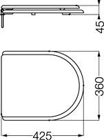 ferrum tapa asiento murano inodoro hdf blanco tux