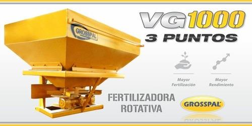 fertilizadora 3 puntos nueva 1.000 litros