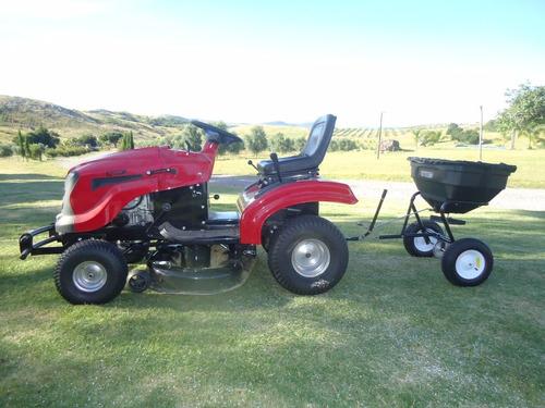 fertilizadora abonadora equus para cuatriciclo o tractor