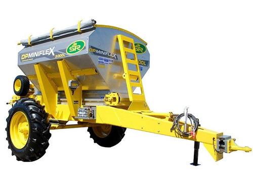 fertilizadora al voleo sr dp miniflex 3000