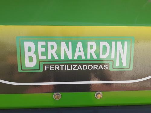fertilizadora de arrastre bernardin primium 1700lts.bi-disco