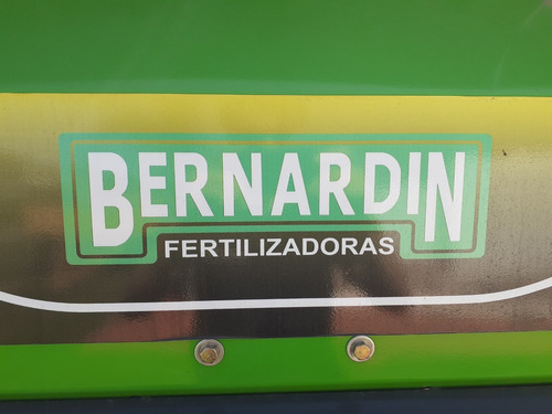 fertilizadora de arrastre bernardin primium 2500lts.bi-disco