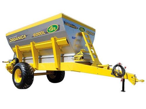 fertilizadora de organico 8000 lts.