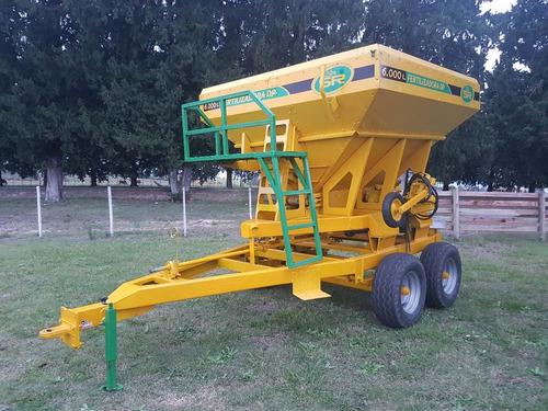 fertilizadora sr dp6000 24 a 36 metros dosificacion variabl