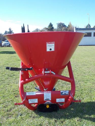 fertilizadora yomel de 360 al voleo semilla y fertilizante