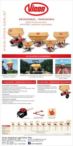 fertilizadoras pendulares vicon - brasil