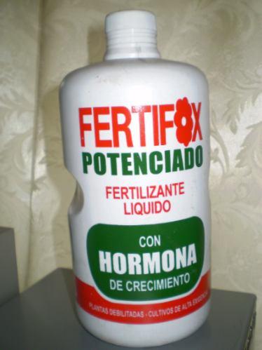fertilizante liquido 1lt fertifox hormona crecimiento vivero