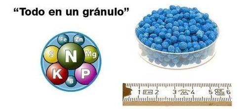 fertilizante nitrofoska azul 1kg - para cesped y huertas