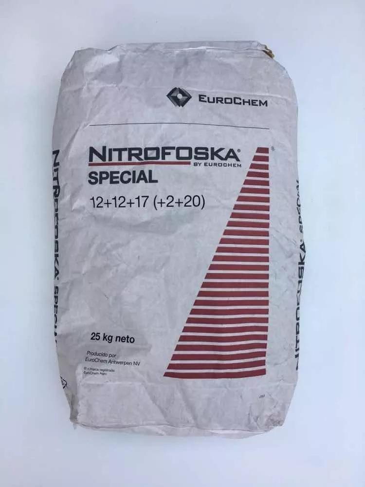 Fertilizante Npk - Nitrofoska El Original - 4kg