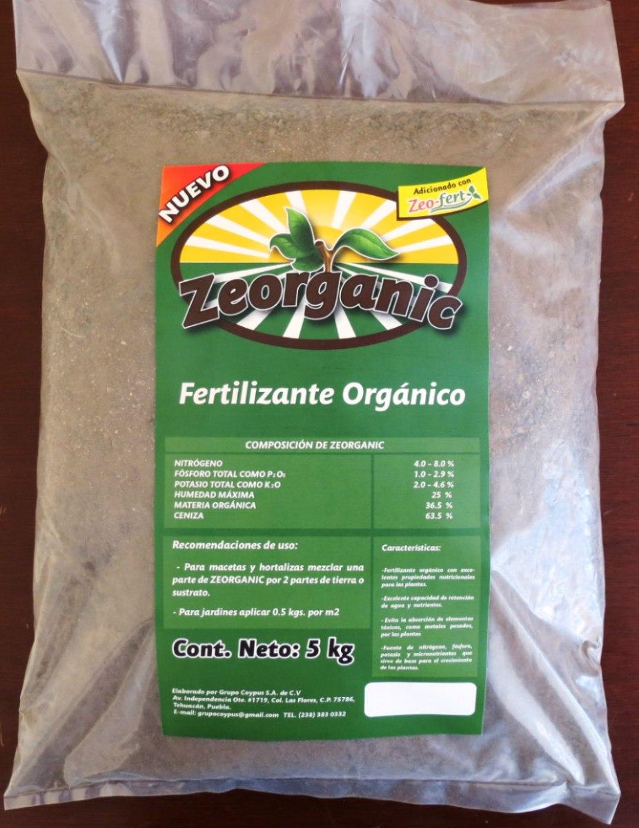 Fertilizante org nico composta abono zeorganic 5kgs 40 - Abono organico para plantas ...
