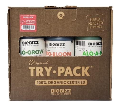 fertilizantes biobizz try pack basic 250ml