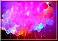 festa balão decoração