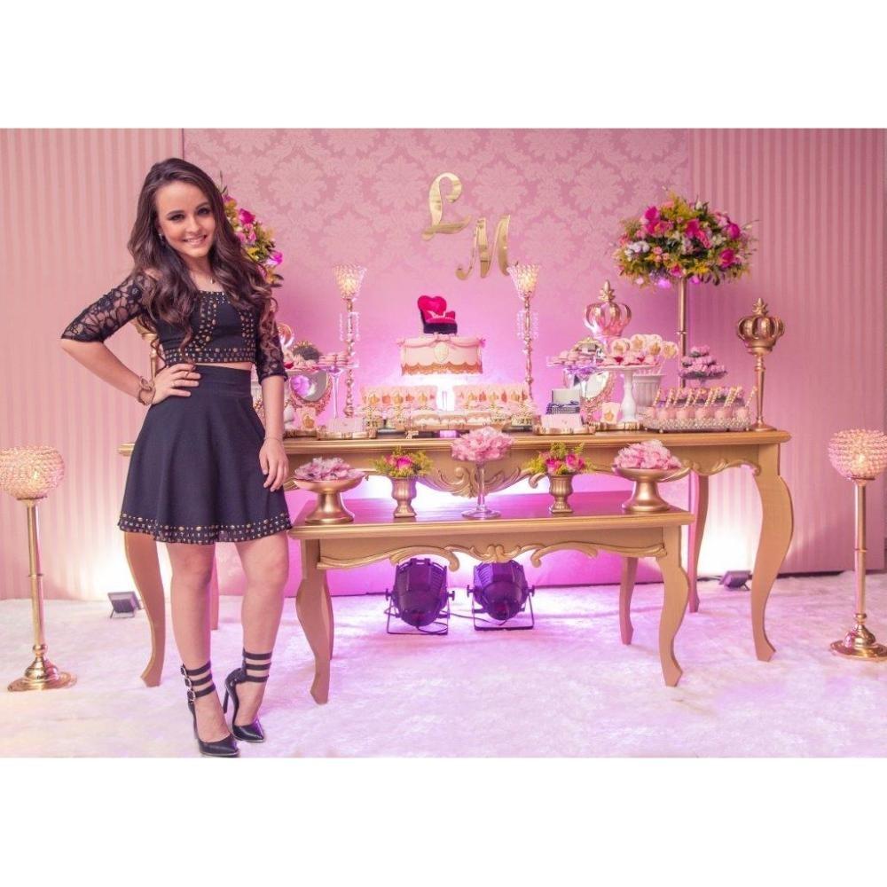 b6d501f6fa0e6 Festa De 15 Anos Larissa Manoela - Super Promoção P  Locação - R ...