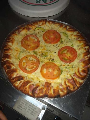 festa de pizza em sua casa