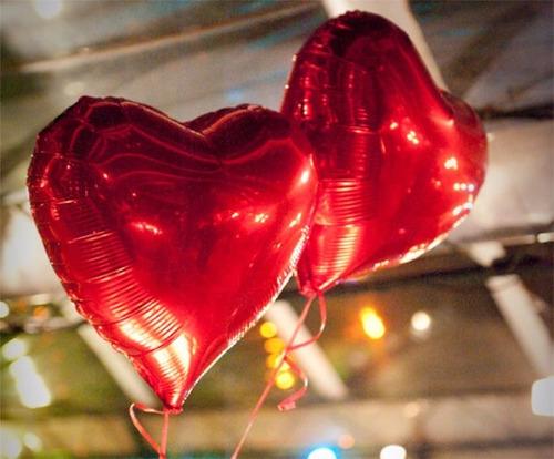 festa decoração balão coração