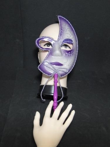 festa fantasia mascara veneza de mão