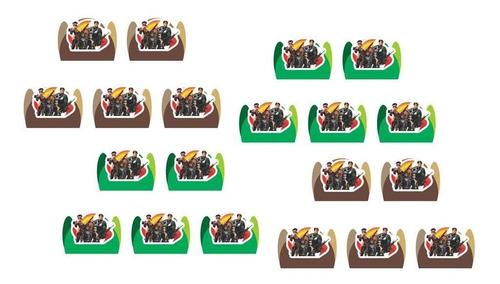 festa free fire 120 peças (10 pessoas)