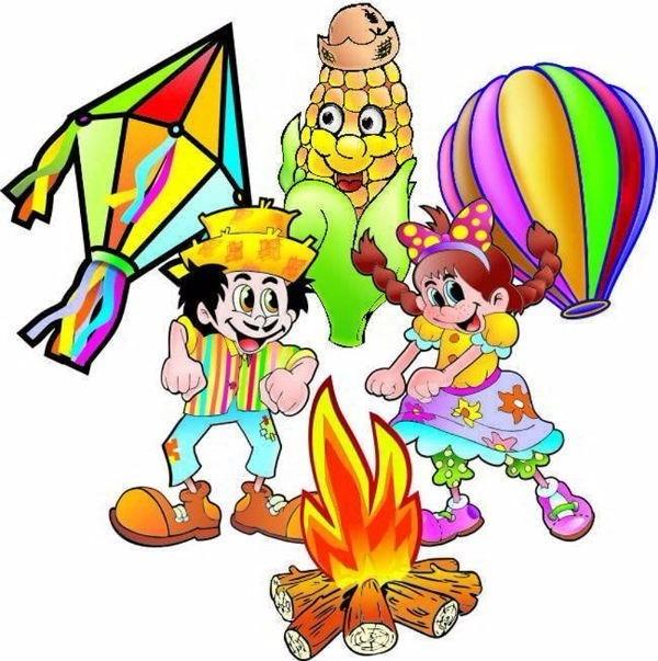 Festa Junina 100 Figuras Decorativas 100 Mts Bandeirinha R 268