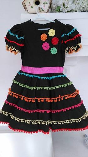 festa junina - vestido de quadrilha