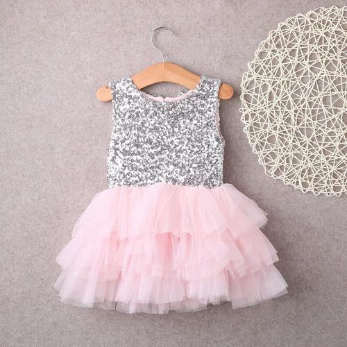 festa menina vestido