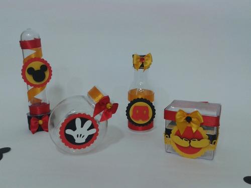festa mickey kit personalizados disney