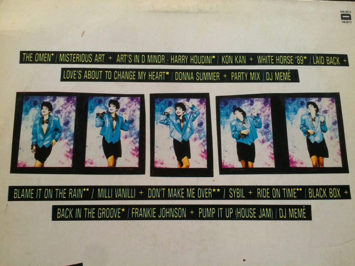 Festa Mix Dj Meme Brazil 80s Dance Konkan Disco Vinilo Rmx - $ 600,00
