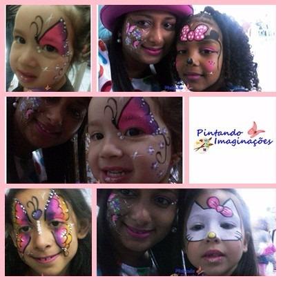 festa ou ação / pintura facial - balões - carrinho de pipoca