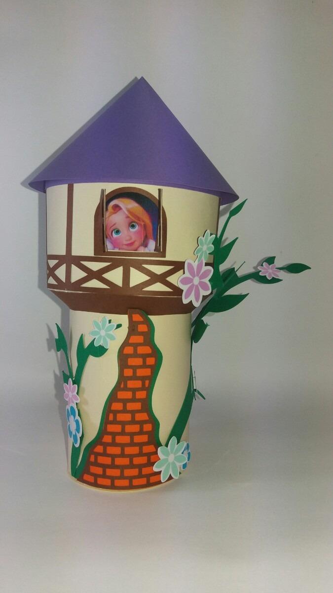 Festa Rapunzel Kit Colorir Torre R 157 29 Em Mercado Livre