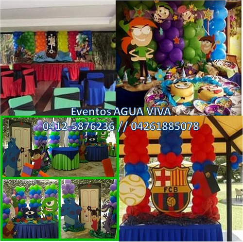 festejos, mesas fantasia, decoraciones, estaciones de comida