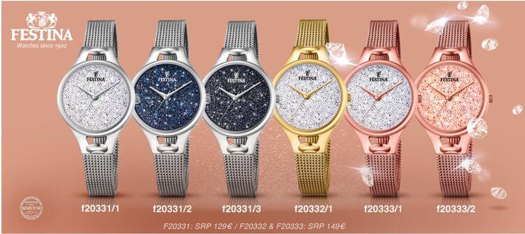 Reloj Festina F20331.1 Cristales Swarovski Mujer Original -   4.200 ... ee836c29dc69