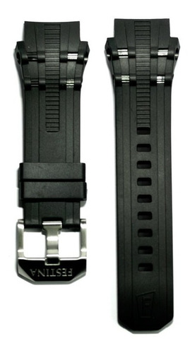 festina original correa de reloj negro f16601/2