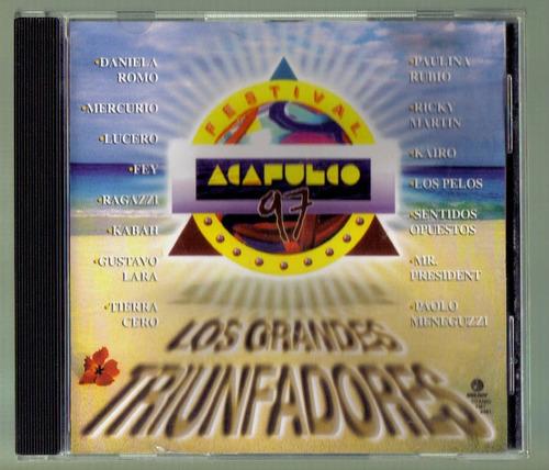 festival acapulco 97 los grandes triunfadores cd ed 1997