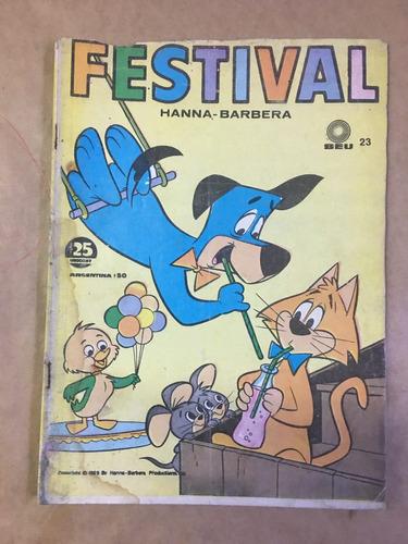 festival, hanna barbera, historietas,  seu, c35
