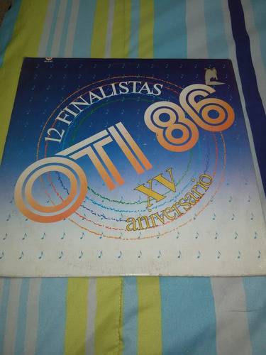 festival oti. 1986, disco acetato lp