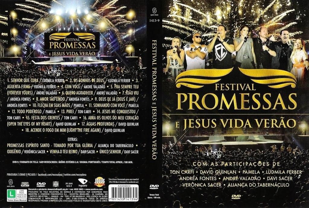 dvd festival promessas para