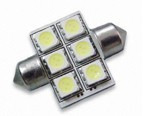 feston sv8,5-31 milimetros- led 5050 6 smd rojas