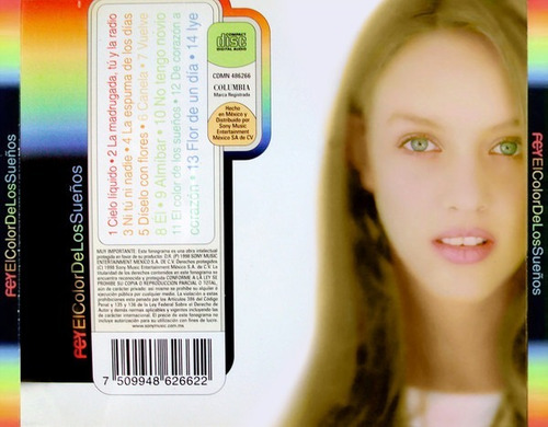 fey - cielo liquido (capa 3d) thalia shakira lucero ov7