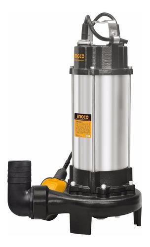 ff bomba sumergible ingco 1500w agua pozo negro triturador