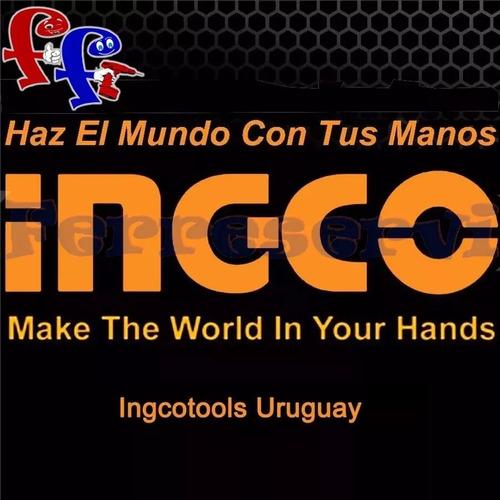 ff cepillo de alambre oxido ingco largo 250mm mango plast