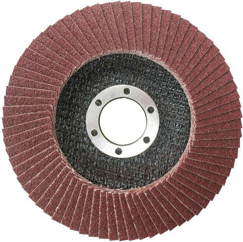 ff disco desbaste flap 4 ½'' amoladora grano 40 ingco fd1151