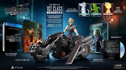 ffvii remake 1st class edition ps4