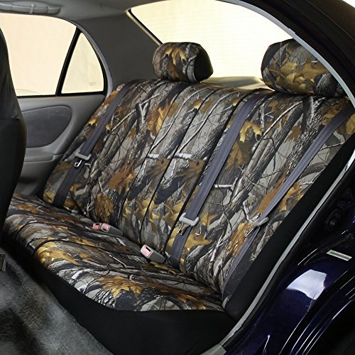fh group universal fit juego completo car seat cover caza ca